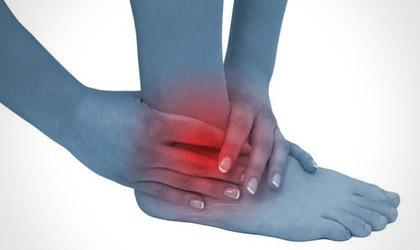 lesione dei legamenti della caviglia